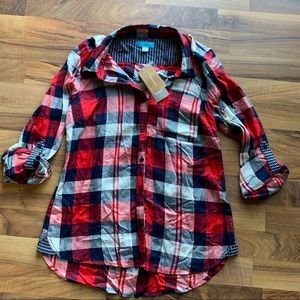 Francesca's | Plaid Shirt
